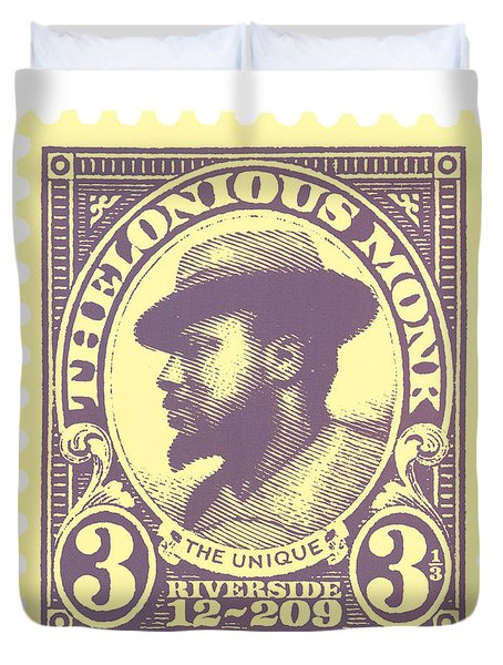 Thelonious Monk -  The Unique Thelonious Monk Duvet Cover