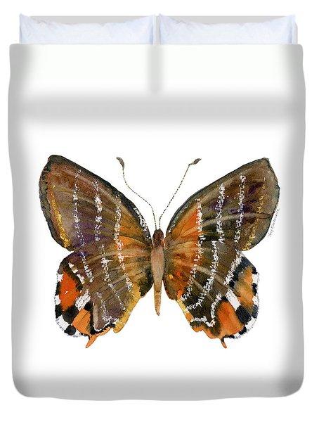 60 Euselasia Butterfly Duvet Cover