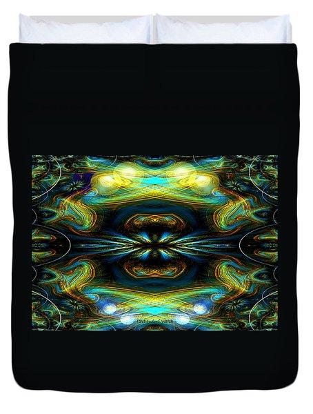 609 - Lucid Infinity .... Duvet Cover