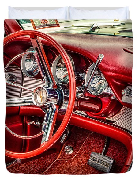 62 Thunderbird Interior Duvet Cover