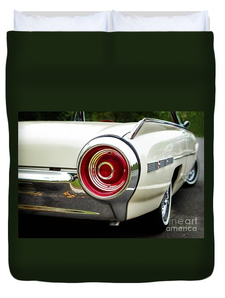 62 Thunderbird Tail Light Duvet Cover