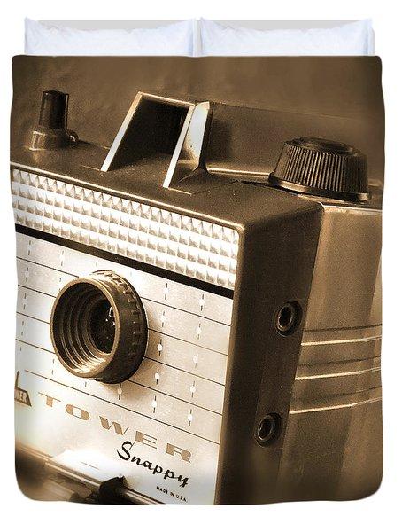 620 Camera Duvet Cover by Mike McGlothlen