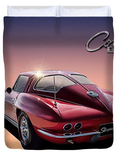 '63 Stinger Duvet Cover