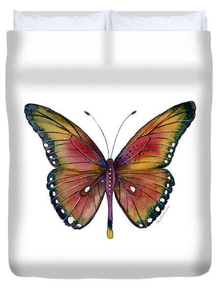 66 Spotted Wing Butterfly Duvet Cover