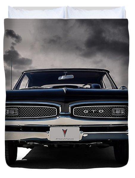 '67 Gto Duvet Cover