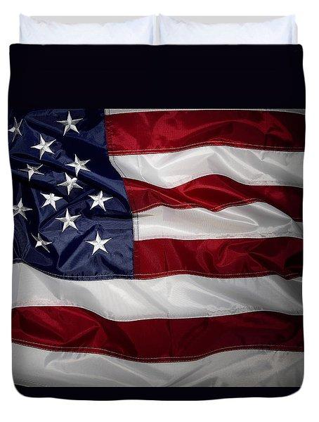 American Flag 52 Duvet Cover