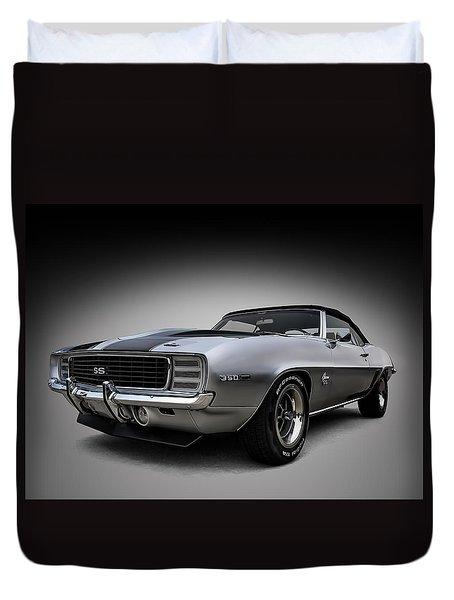 '69 Camaro Ss Duvet Cover