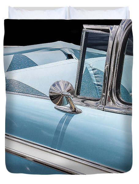 1956 Chevrolet Bel Air Convertible Duvet Cover
