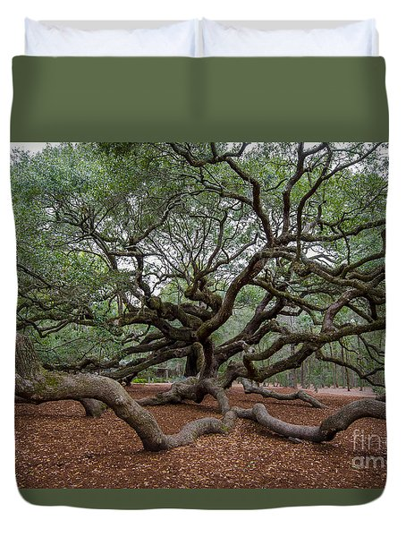 Mighty Branches Duvet Cover