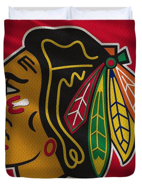 Chicago Blackhawks Uniform Duvet Cover