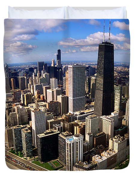 Chicago Il Duvet Cover by Panoramic Images