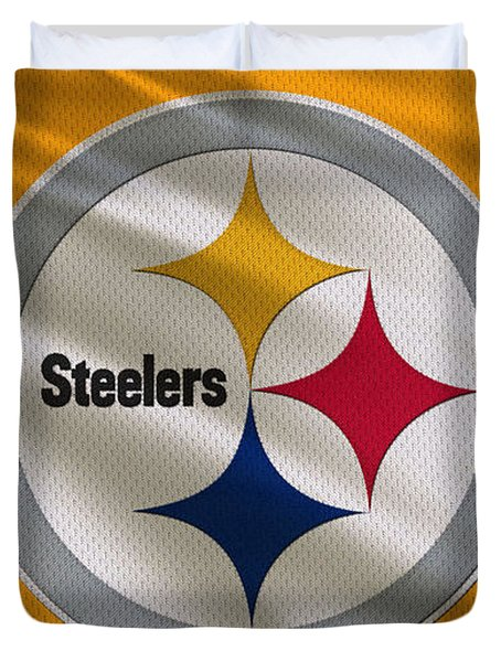 Pittsburgh Steelers Uniform Duvet Cover