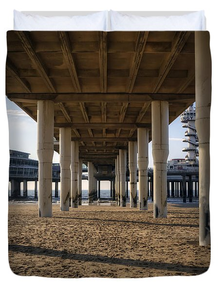 Scheveningen Duvet Cover by Joana Kruse