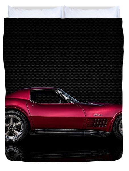 '71 Red Duvet Cover