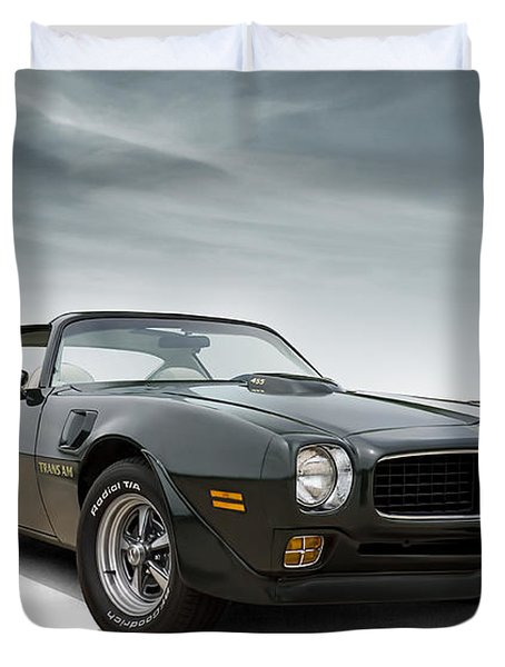'73 Trans Am Duvet Cover