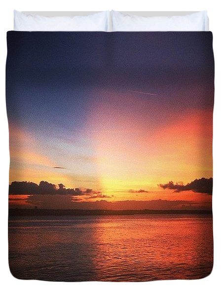 Mystical Evenings  Duvet Cover