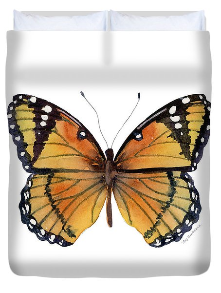 76 Viceroy Butterfly Duvet Cover