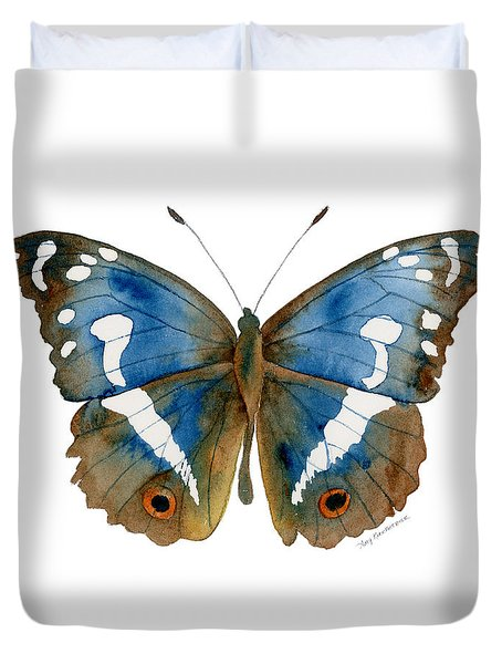 78 Apatura Iris Butterfly Duvet Cover