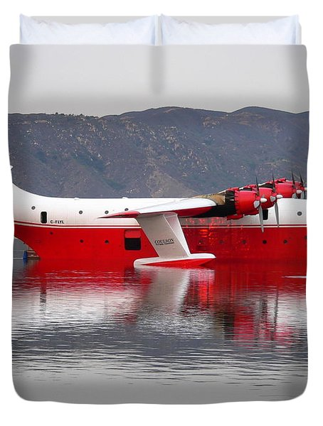 Coulson Martin Hawaii Mars Duvet Cover