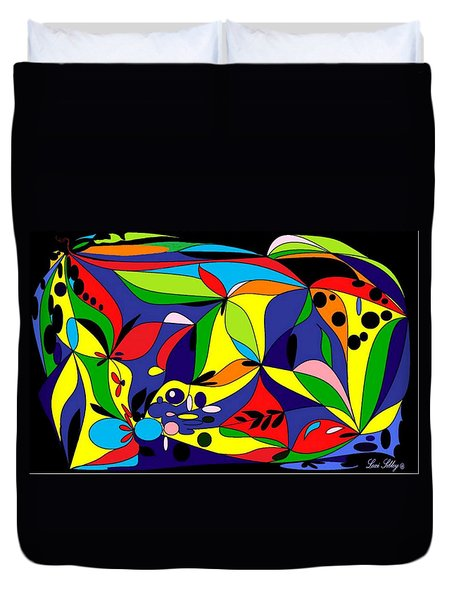 Design By Loxi Sibley Duvet Cover by Loxi Sibley