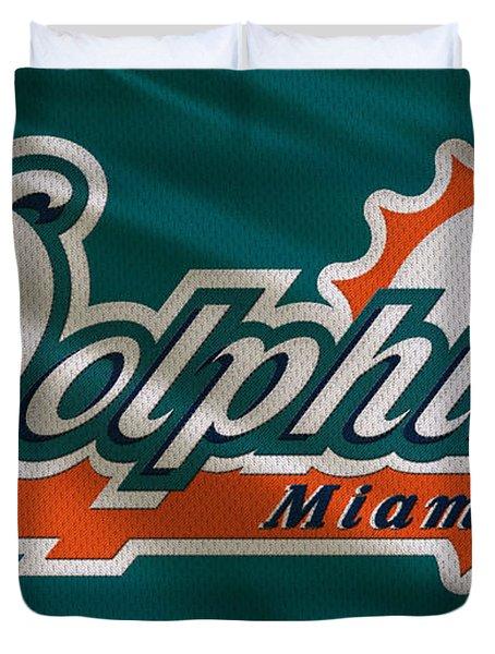 Miami Dolphins Uniform Duvet Cover