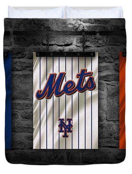 New York Mets Duvet Cover