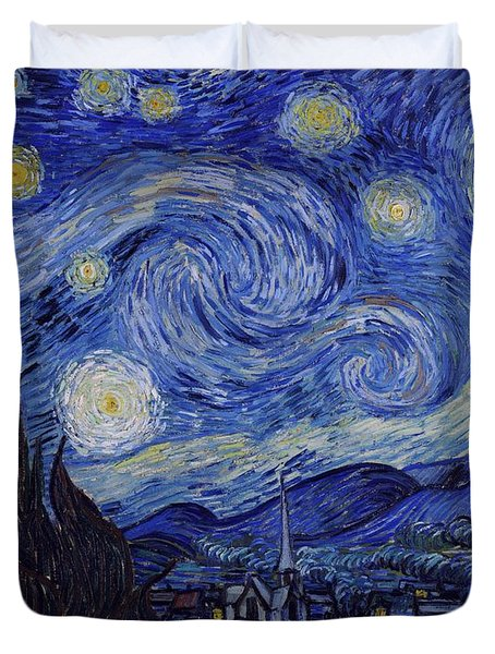 Starry Night Duvet Cover by Vincent Van Gogh