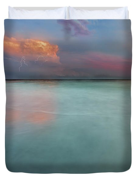Sunset On Hilton Head Island Duvet Cover