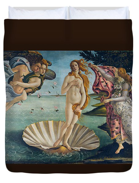 The Birth Of Venus Duvet Cover
