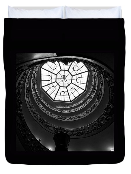 The Vatican Stairs Duvet Cover by Jouko Lehto