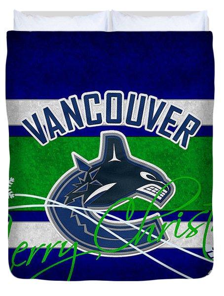 Vancouver Canucks Duvet Cover