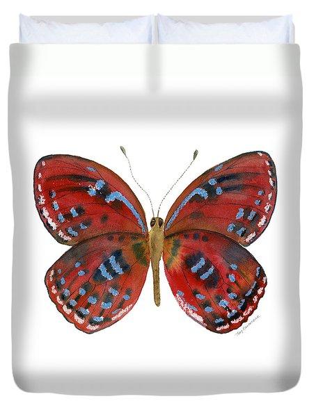 81 Paralaxita Butterfly Duvet Cover