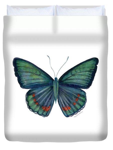 82 Bellona Butterfly Duvet Cover by Amy Kirkpatrick