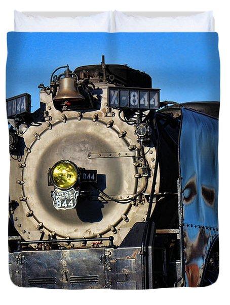 844 Locomotive Duvet Cover