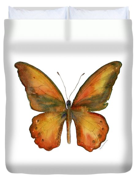 85 Lydius Butterfly Duvet Cover