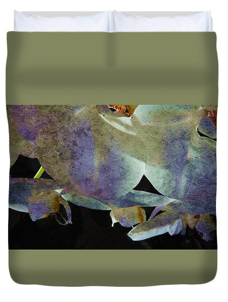 Orchids In Charming Color Duvet Cover