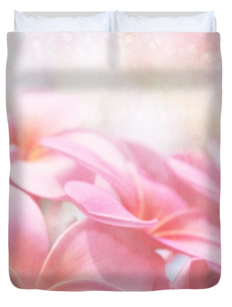 Duvet Cover featuring the photograph Aloha by Sharon Mau