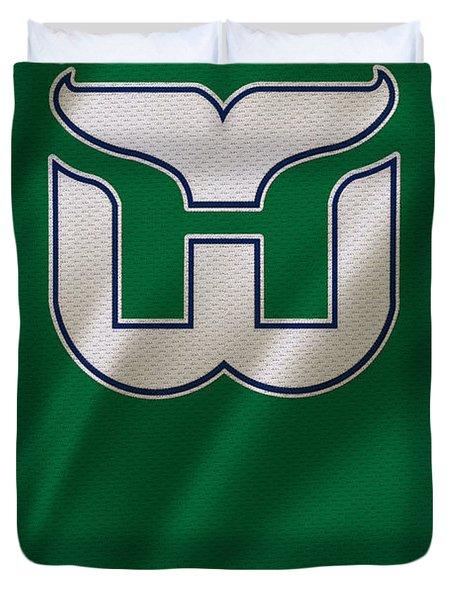 Hartford Whalers Duvet Cover