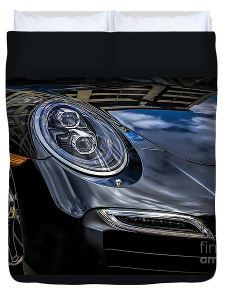911 Turbo S Duvet Cover