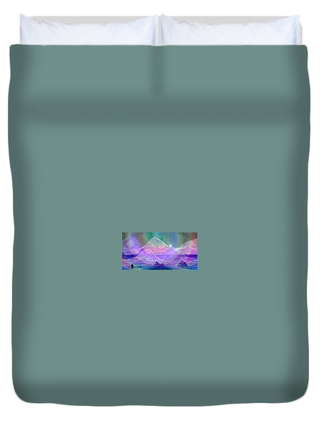 939 - Magic Mood  Mountain World Duvet Cover