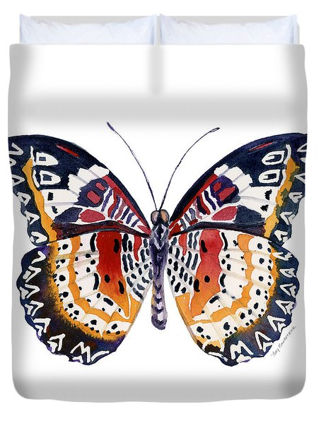 94 Lacewing Butterfly Duvet Cover