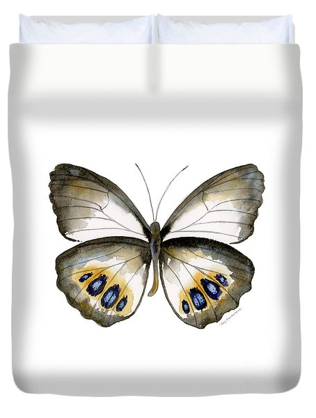 95 Palmfly Butterfly Duvet Cover