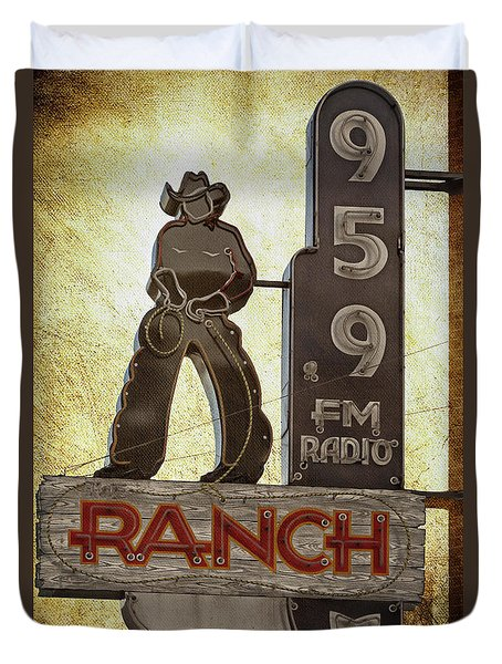 95.9 The Ranch Duvet Cover
