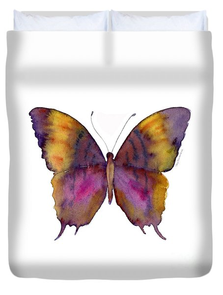 99 Marcella Daggerwing Butterfly Duvet Cover