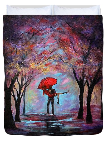 A Beautiful Romance Duvet Cover