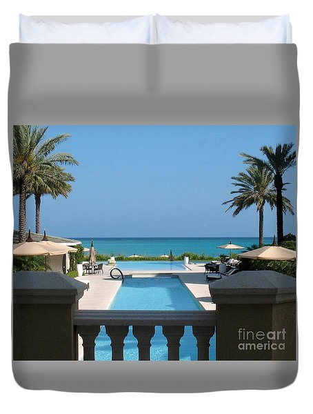 A Beautiful View Duvet Cover