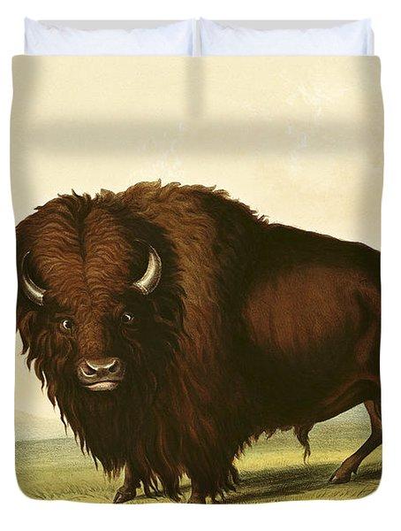 A Bison Duvet Cover