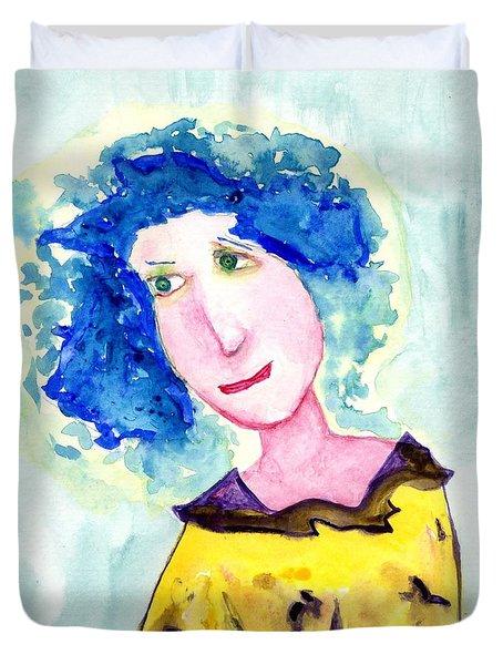 A Blue Day Duvet Cover