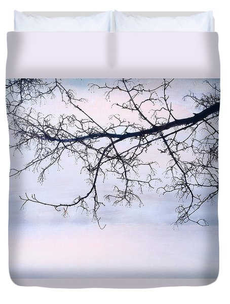 A Breathing Too Quiet To Hear Duvet Cover by Theresa Tahara
