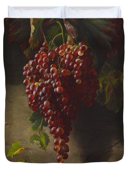 A Bunch Of Grapes Duvet Cover by Andrew John Henry Way